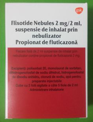 flixotide fiole pentru aerosoli