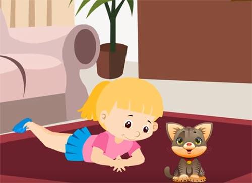 cantece pentru copii cu pisici