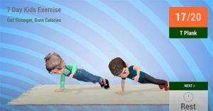 exercitii aerobic copii