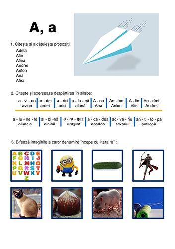 invata despartirea in silabe