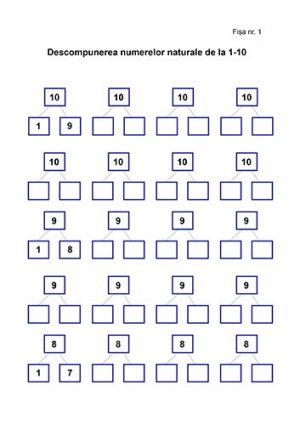 matematica clasa primara