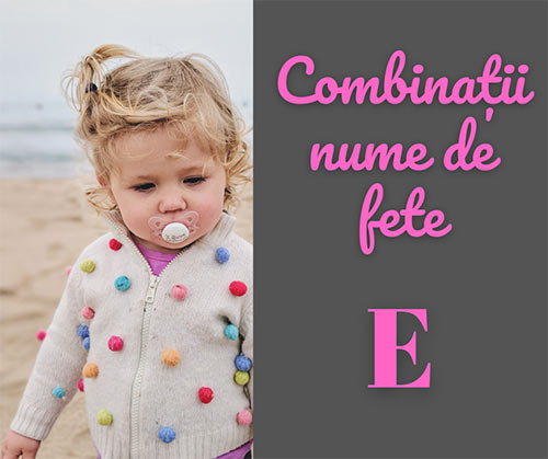 combinatii prenume rare pentru copii