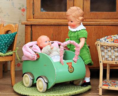 jocuri de rol de-a mama si copilul