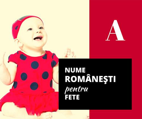 prenume romanesti copii