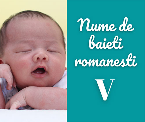 nume rare de baieti romanesti