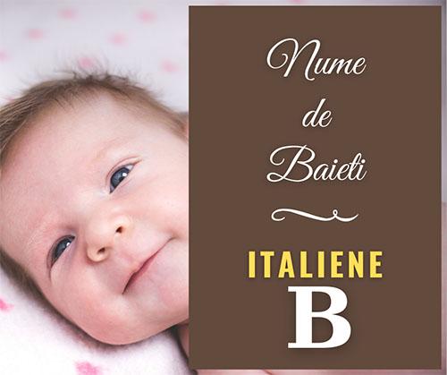 nume de copii cu b
