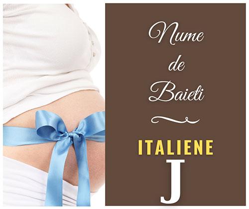 nume italiene copii