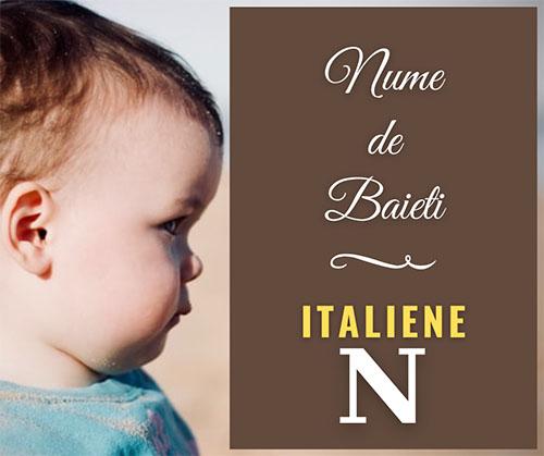nume pentru copii cu n