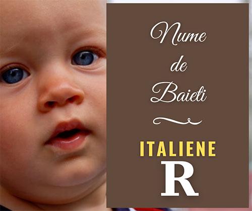 nume rare pentru copii