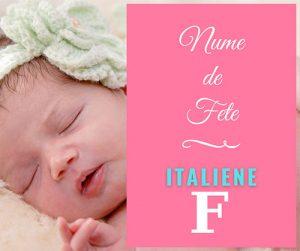 italian baby girl names